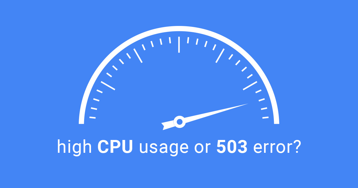 wordpress plugin high cpu usage